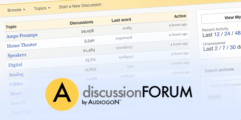 forum.audiogon.com